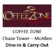 Coffee Zone Chase Tower McAllen