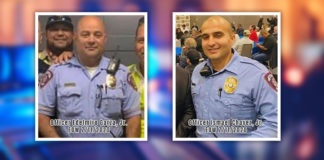 McAllen officers Edelmiro Garza, Jr. and Ismael Chavez, Jr. died after a local man shot them several times as they responded to a domestic disturbance call. Our thoughts and prayers go out to the family of these two officers who lost their lives in the line of duty. Texas Border Business & Mega Doctor News team sends our deepest condolences to their families. Photos from Facebook