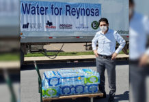 In an effort to aid Reynosa community in their time of need, the City of McAllen, McAllen Chamber of Commerce, the McAllen Economic Development Corporation & the McAllen Hidalgo-Anzalduas International Bridge, with the support of the Mexican Consulate in McAllen are coordinating efforts to send one trailer full of cases of drinking water for the people of Reynosa.