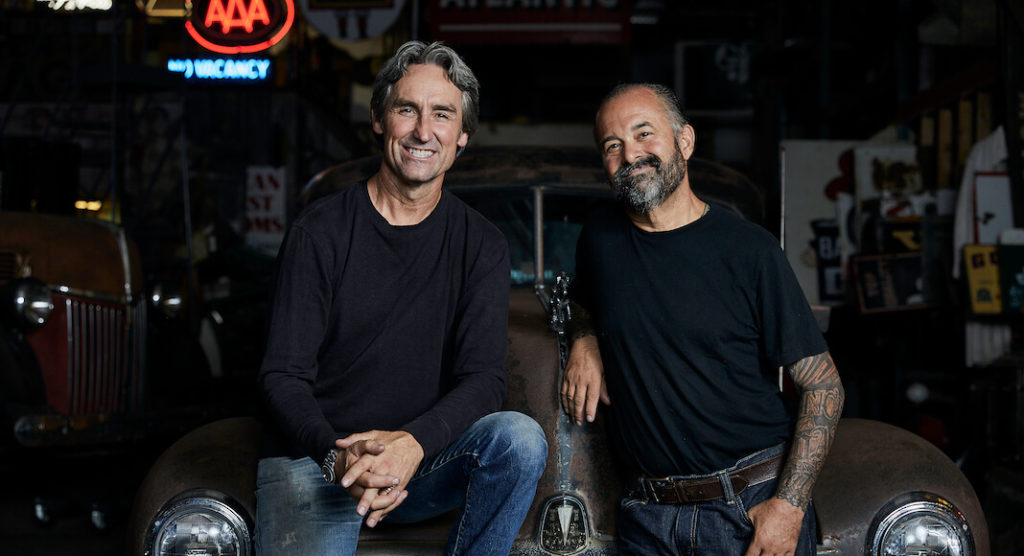 Mike and Frank have seen a lot of rusty gold over the years and are always looking to discover something they've never seen before. AMERICAN PICKERS is produced by Cineflix Productions for History. New episodes air Mondays at 9pm EST on History.