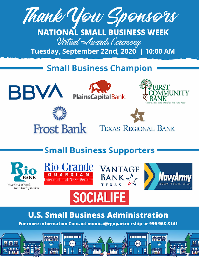 National Small Business Week - Virtual Award Ceremony