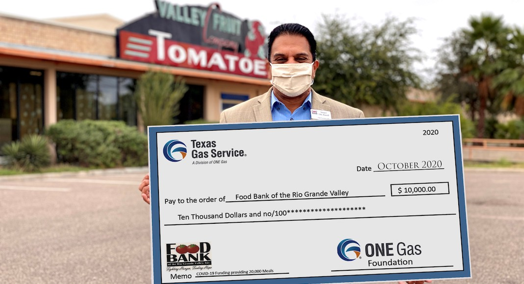Texas Gas Service Donation To Food Bank Provides 50 000 Meals To Rgv Families Texas Border Business