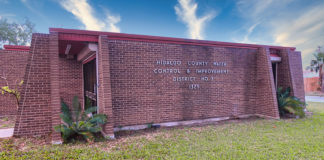 Hidalgo County Water Control & Improvement District No. 3 offices located on north Main and Pecan, McAllen Texas.