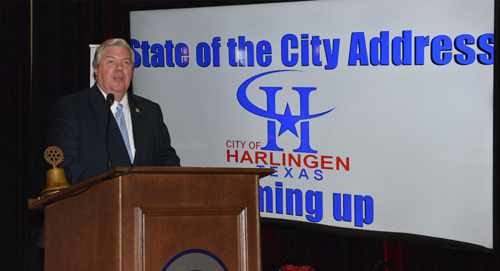 Harlingen Mayor Chris Boswell Delivers the State of the City Address.