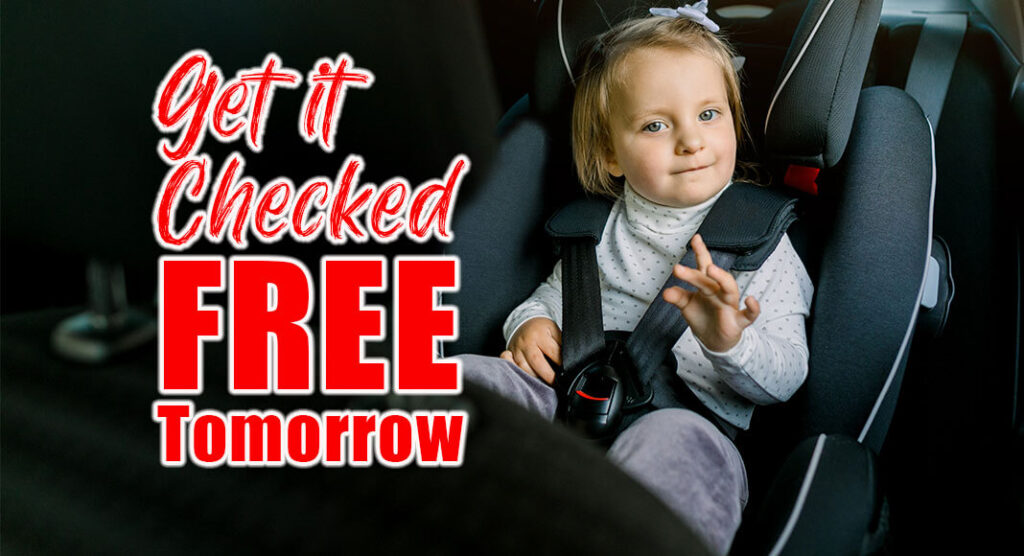 Certified Child Passenger Safety Technicians will teach parents how to properly install a child's car seat. The event is open to the community at no cost.Events will be held Saturday, Sept. 25, in Corpus Christi and Weslaco. Image for illustration purposes.
