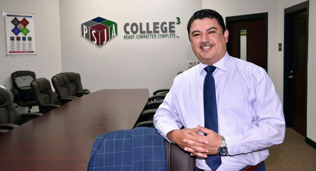 r. Jorge L. Arredondo, Superintendent of Schools,Pharr-SanJuan-Alamo Independent School District. Photo by Roberto Hugo Gonzalez