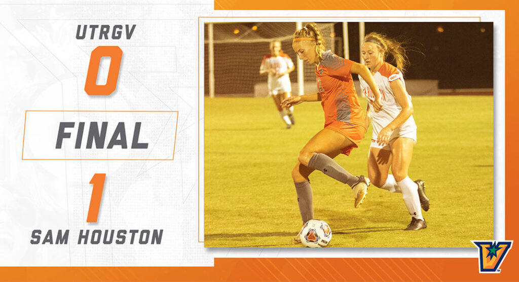 The University of Texas Rio Grande Valley (UTRGV) women's soccerteamdropped the Western Athletic Conference (WAC) home opener to the Sam Houston. UTRGV Image