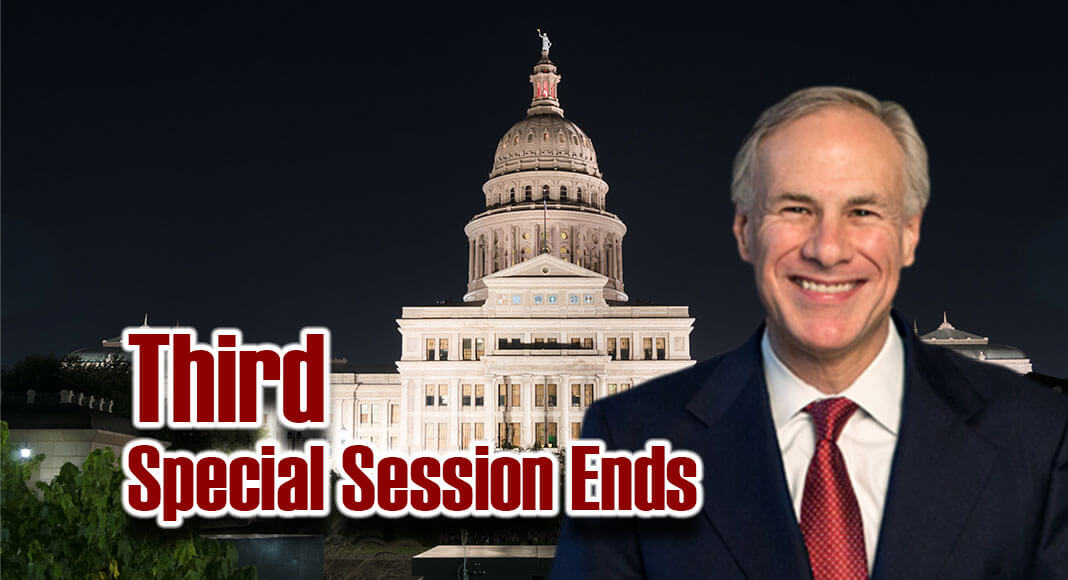 Governor Abbott Statement on Third Special Session - Texas Border Business